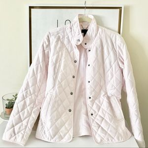 H&M / Blush Pink Quilted Jacket